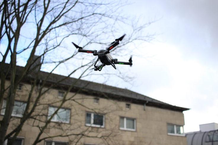 Jie-Star X8TW Drohne Flug