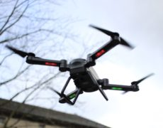 Jie-Star X8TW Drohne LEDs