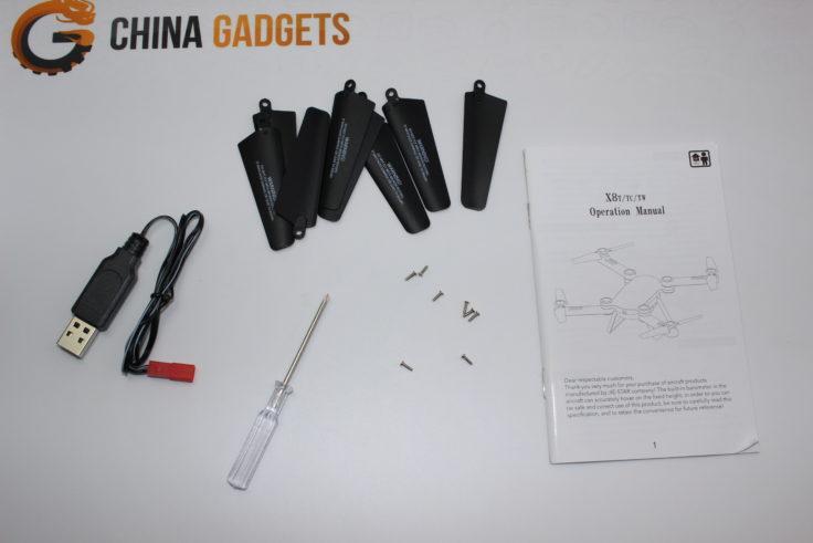 Jie-Star X8TW Drohne Zubehör