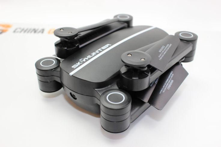 Jie-Star X8TW Drohne eingeklappt