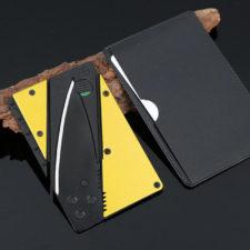 Kreditkartenmesser Schwarz