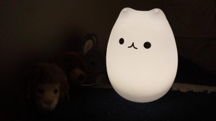 LED-Lampe Katze