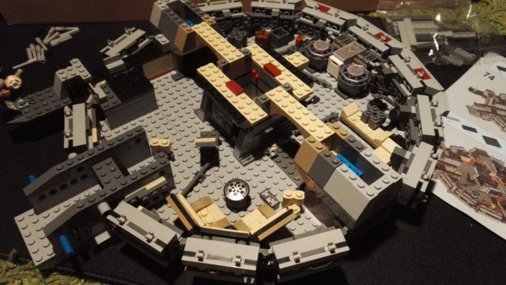 Lepin Millennium Falke Aufbau