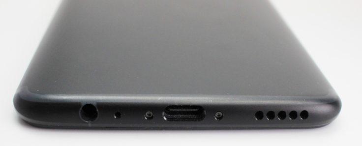 OnePlus 5T Klinke, USB-C, Lautsprecher