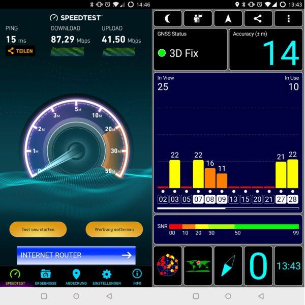 OnePlus 5T WLAN GPS