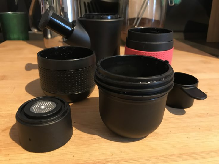 Portable Espressomaschine Lieferumfang