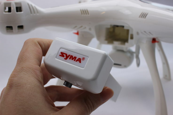 Syma X8 Pro Drohne Akku (2)