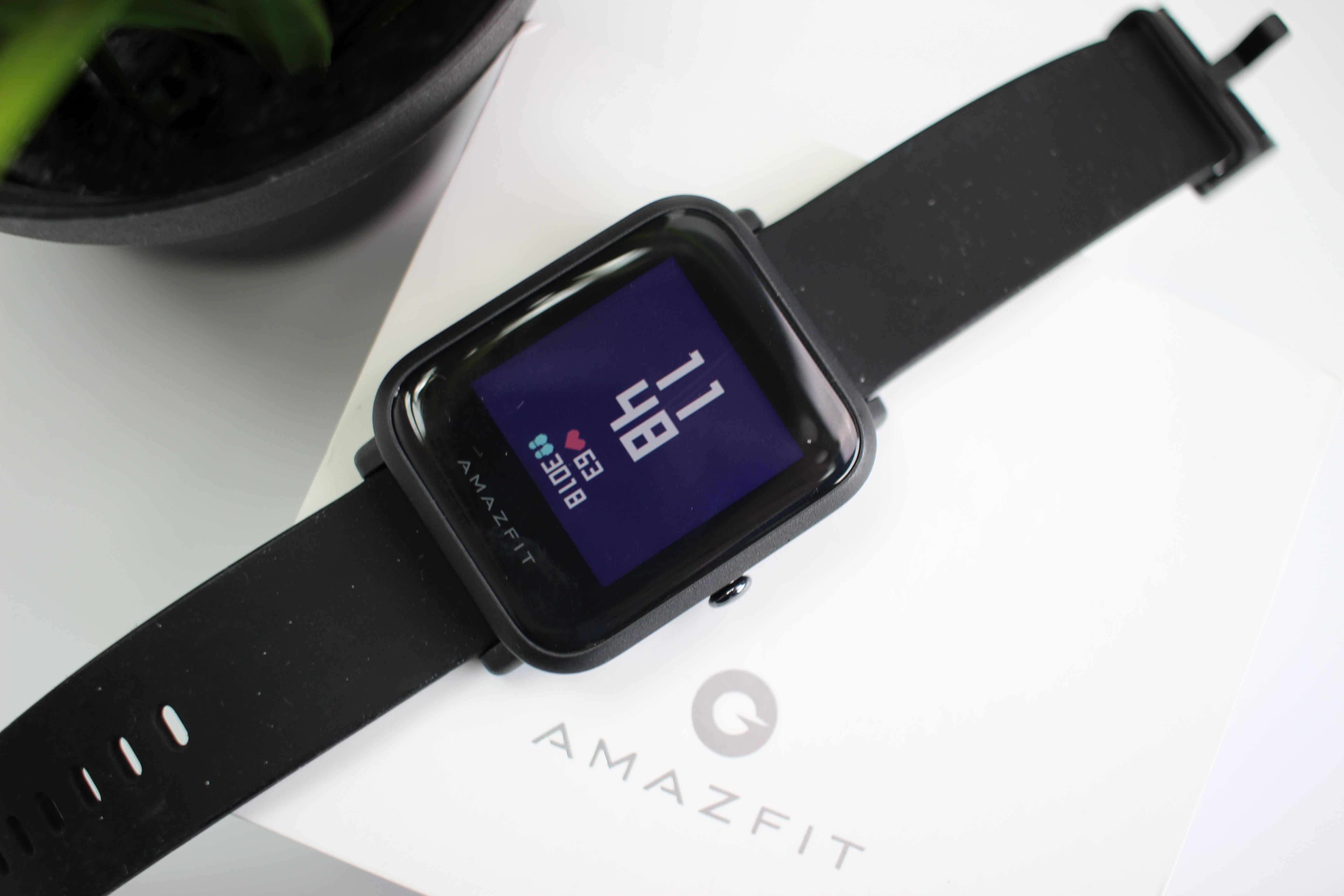 Huami Amazfit Bip: Sport-Smartwatch im Applewatch Design im Test