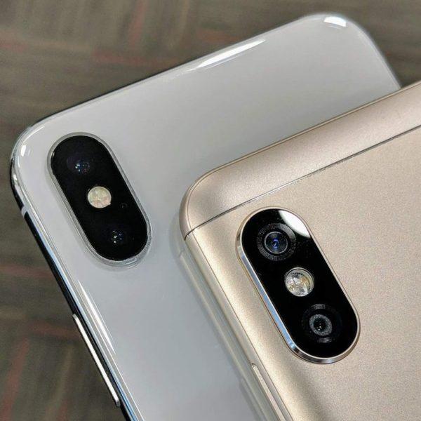 Xiaomi Redmi Note 5 Pro Dual Kamera im Vergleich zu iPhone X