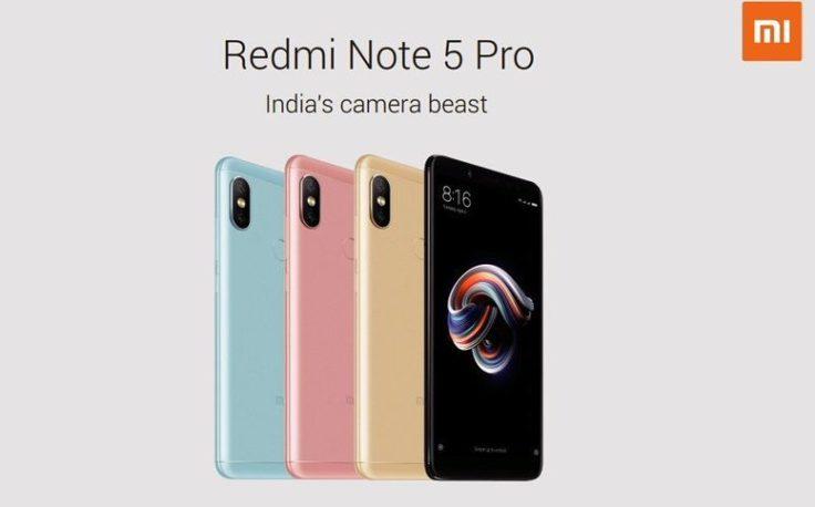 Xiaomi Redmi Note 5 Pro Smartphone Specs