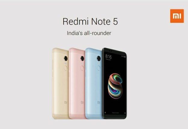 Xiaomi Redmi Note 5 Smartphone 2