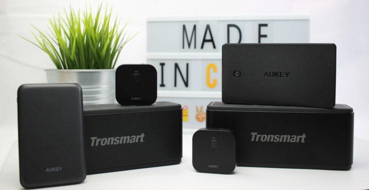 Powerbank mit Lautsprecher und Bluetooth Receiver
