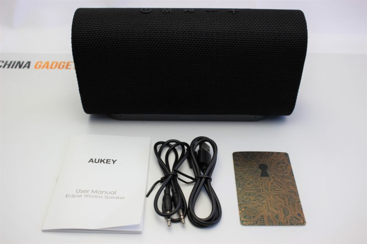 Aukey Eclipse Bluetooth Speaker Lieferumfang