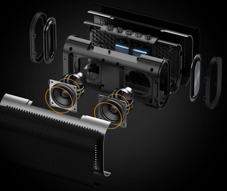 Aukey Eclipse SK-M30 Konzeptfoto mit allen Einzeilteilen inklusive Treiber