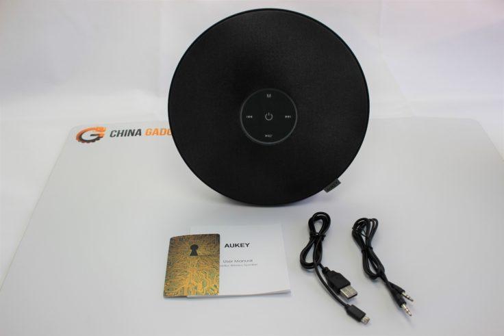 Aukey Radius SK-M36 Speaker Zubehör und Lieferumfang