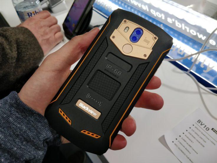 Blackview BV5800 Pro Smartphone Rückseite