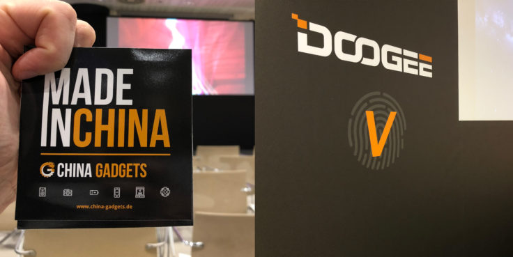 CG bei Doogee auf dem MWC 2018