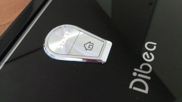 Dibea D960 Saugroboter Button