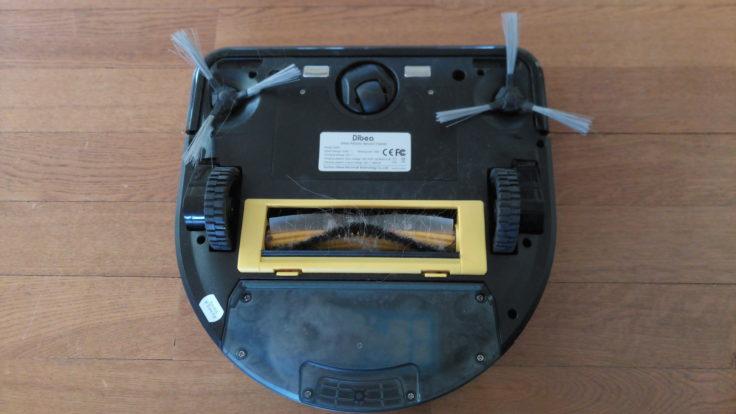 Dibea D960 Saugroboter Unterseite
