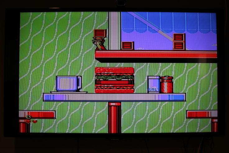 Entertainment System NES Klon Chip und Chap
