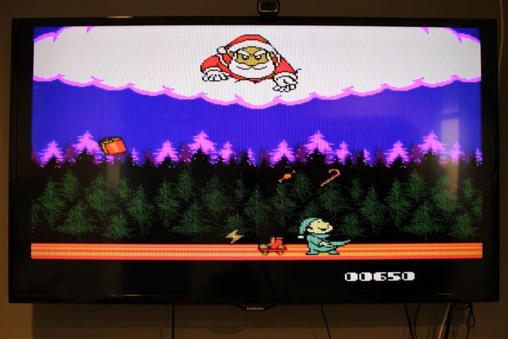 Entertainment System NES Klon Christmas