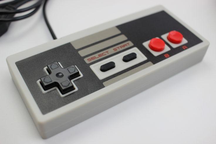 Entertainment System NES Klon Controller