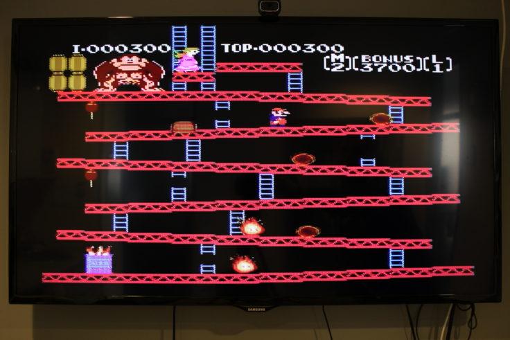 Entertainment System NES Klon Donkey Kong