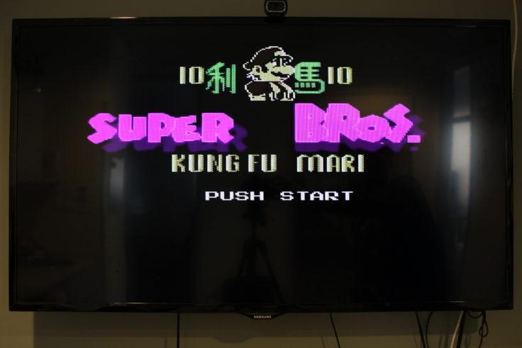 Entertainment System NES Klon Mario Bros Fake