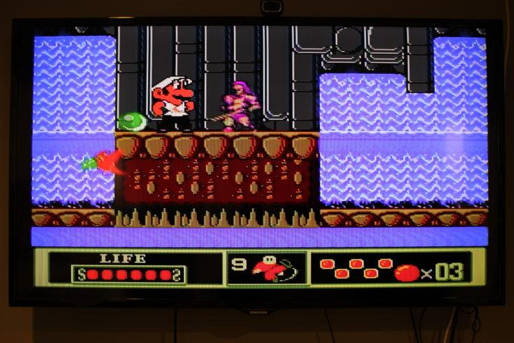 Entertainment System NES Klon Mario Bros Fake Jump n Run