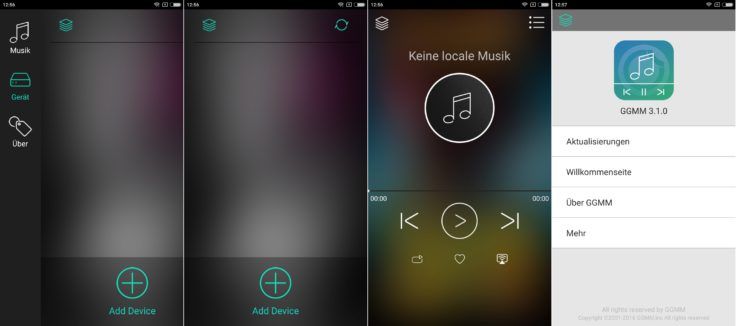 GGMM M3 Android App