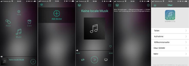 GGMM M3 iOS App