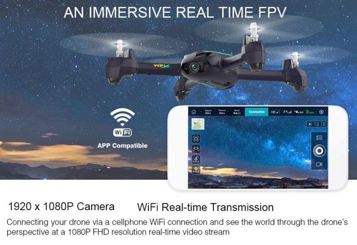 Hubsan Desire Pro Drohne App
