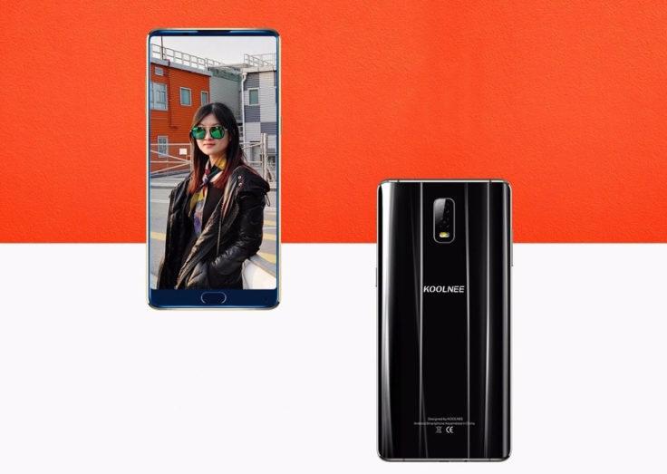Front- und Rückseite des Koolnee K1 Trio Smartphones