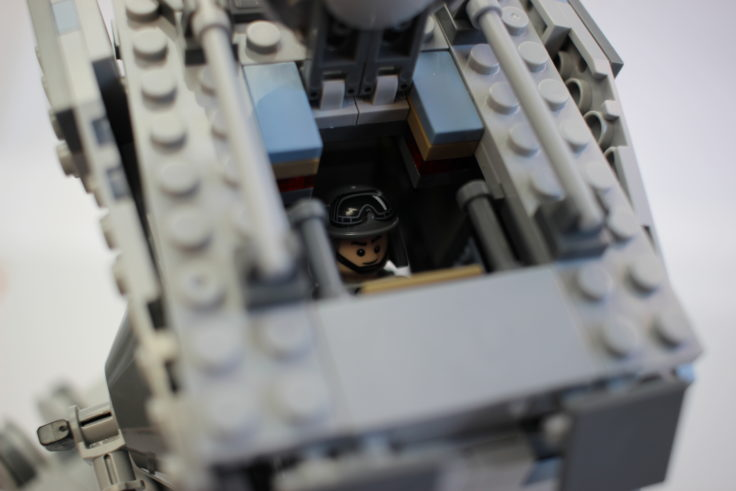 Lepin Walker AT-ST Luke offen und Blick ins Cockpit
