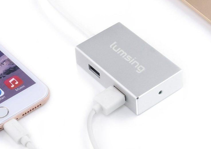 Lumsing USB C Port