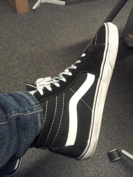 MAZE Alpha X Smartphone Testfoto Schuhe