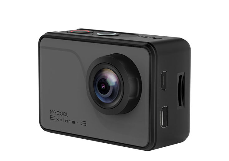 MGCOOL Explorer 3 Action Cam seitlich