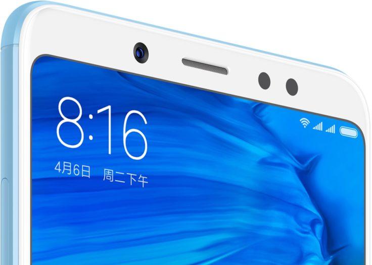 Xiaomi Redmi Note 5 Frontkamera Portrait AI