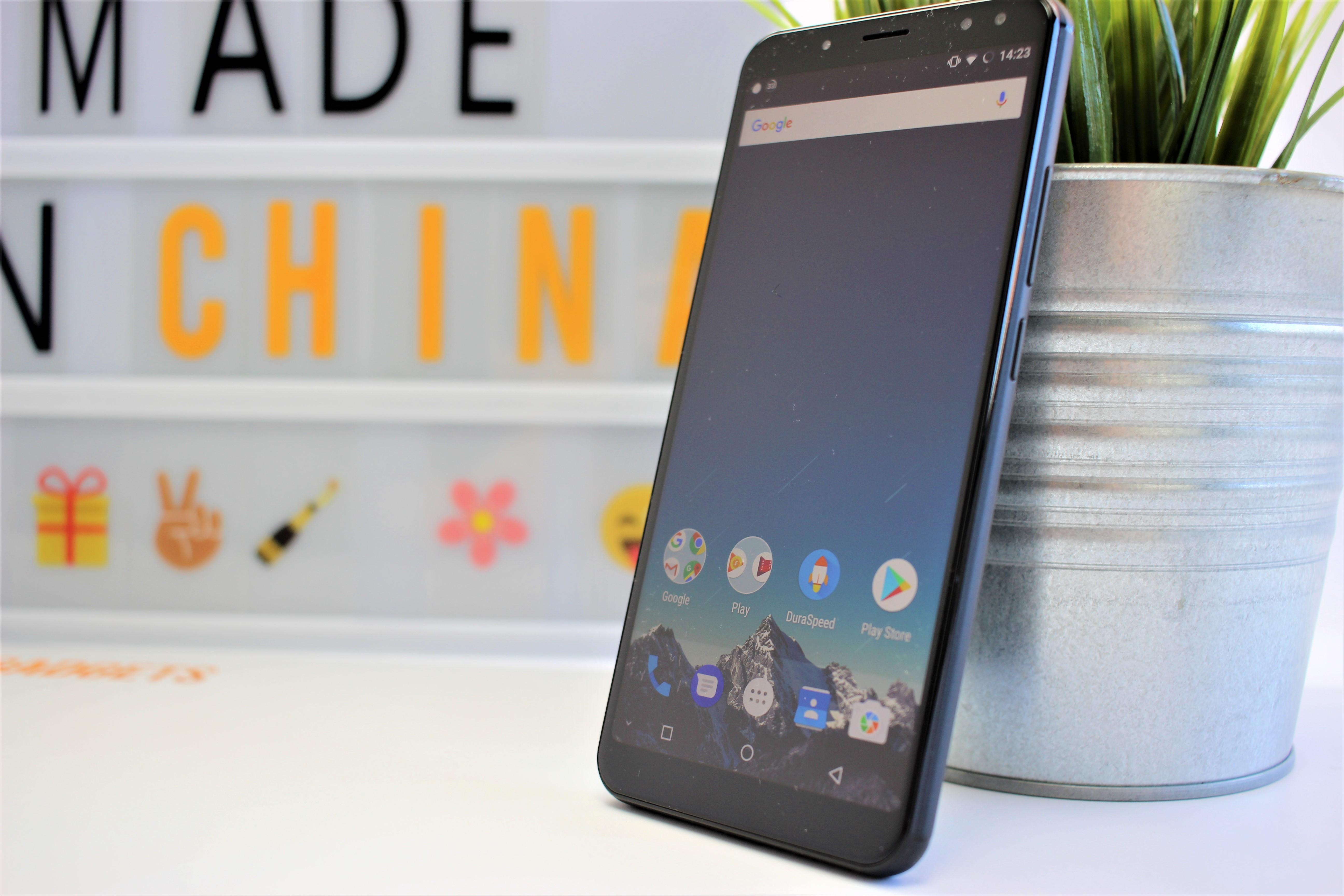 Vernee x akku monster smartphone mit 6 zoll display im test