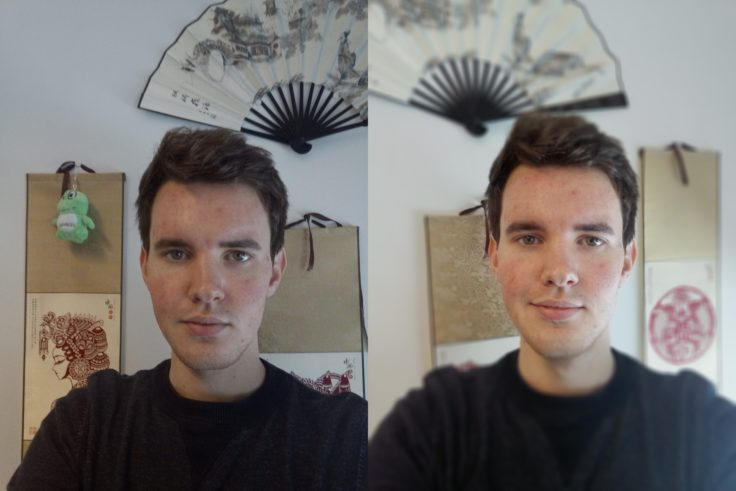 Vernee X Frontkamera Portrait