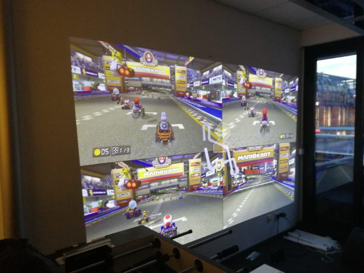 Xiaomi Beamer Laser Projector Nintendo Switch Mario Kart 8