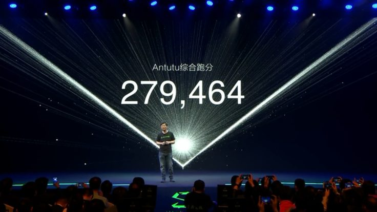 Xiaomi Black Shark Smartphone AnTuTu Benchmark Screenshot