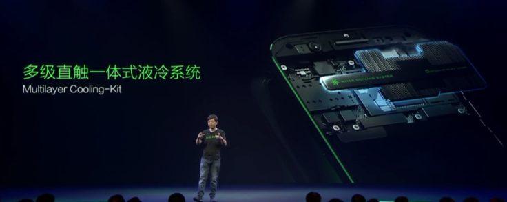 Xiaomi Black Shark Wasserkühlung