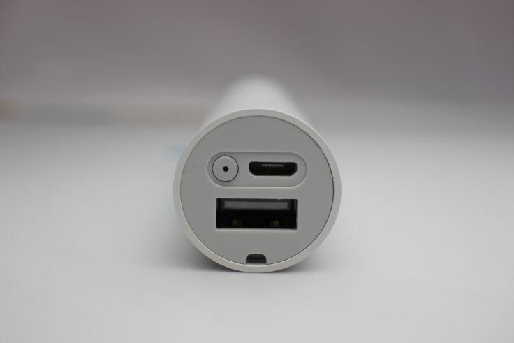 Xiaomi LED Taschenlampe Anschlüsse