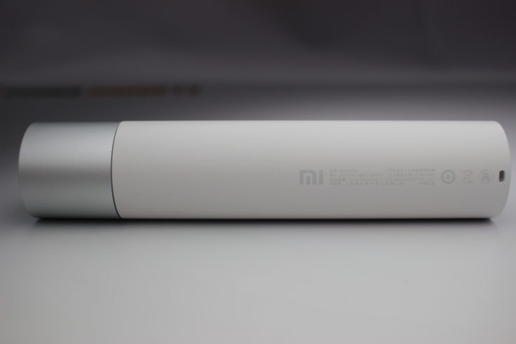 Xiaomi LED Taschenlampe Seitenansicht