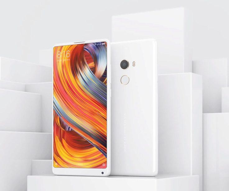 Xiaomi Mi Mix 2 weiß Special Edition