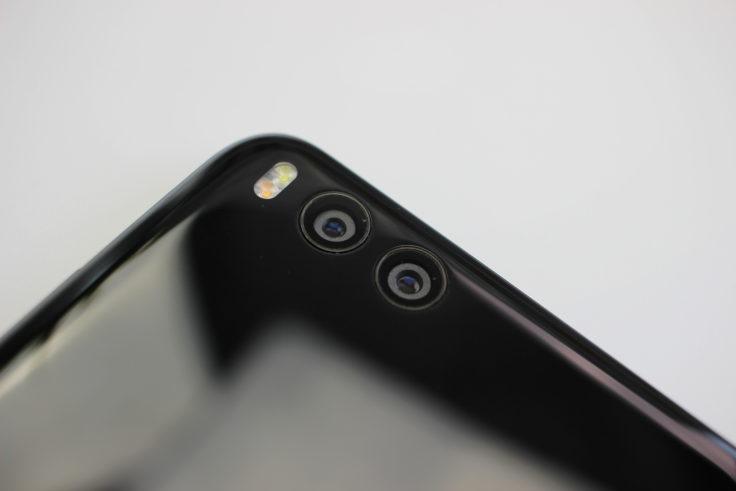 Die Dual Kamera des Xiaomi Mi Note 3 Smartphones