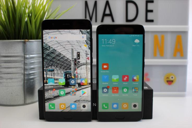 Xiaomi Mi Note 3 im Vergleich zum Xiaomi Mi 6