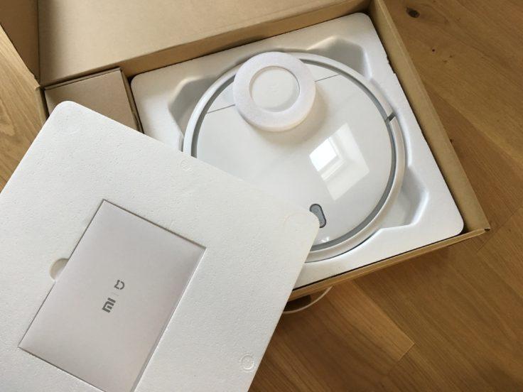 Xiaomi Mi Vacuum Verpackung