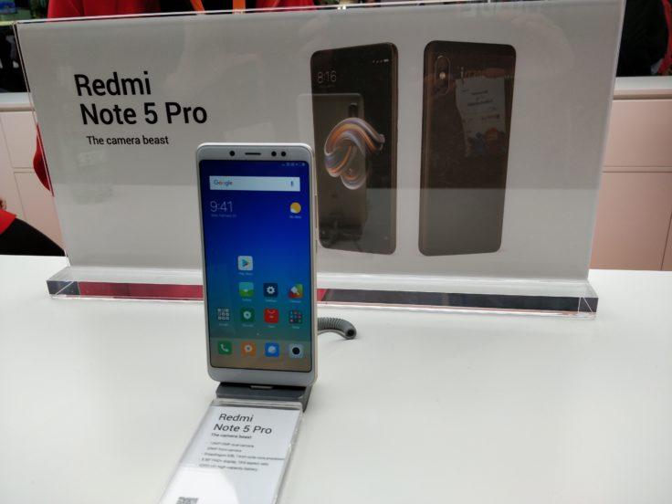 Xiaomi Redmi Note 5 Pro Smartphone MWC